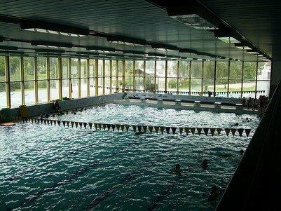 Plavecký stadion šutka