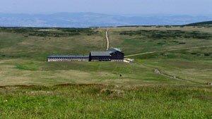 Luční bouda - nejvýše položená horská chata ve střední Evropě