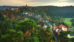 Rabštejn nad Střelou - nejmenší historické město Česka i Evropy